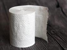 Rolo de papel higiênico tão próximo imagens de stock royalty free