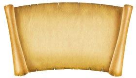 Rolo de papel velho ilustração royalty free