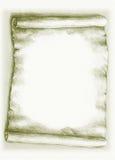 Rolo de papel velho Fotografia de Stock