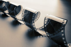 Rolo de película Fotografia de Stock