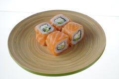 Rolo de Philadelphfia do sushi Fotos de Stock