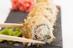 Rolo de sushi Imagens de Stock Royalty Free