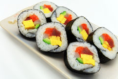 Rolo de sushi Imagem de Stock