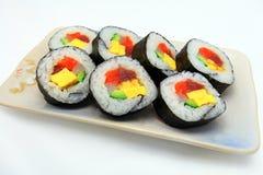 Rolo de sushi Imagens de Stock