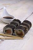 Rolo de sushi Foto de Stock Royalty Free