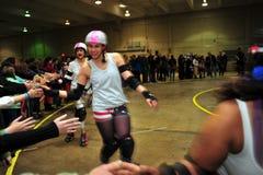 Rolo Derby Girls Fotografia de Stock