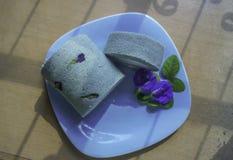 Rolo do bolo de Crake Imagem de Stock