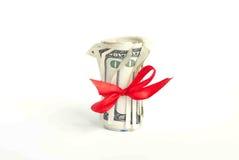Rolo do dólar americano Imagem de Stock