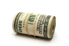 Rolo do dinheiro Fotografia de Stock