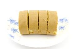 Rolo do doce isolado no branco Foto de Stock Royalty Free