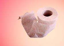 Rolo do papel higiénico Imagem de Stock