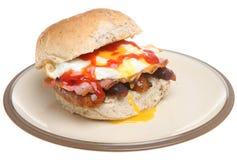 Rolo do pequeno almoço foto de stock royalty free
