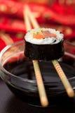Rolo do sushi Foto de Stock Royalty Free