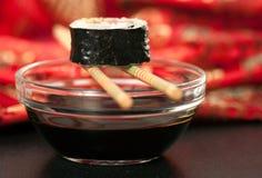 Rolo do sushi Fotografia de Stock Royalty Free