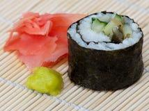 Rolo do sushi Imagens de Stock