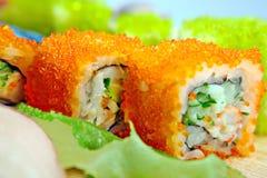 Rolo do sushi Fotos de Stock