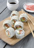 Rolo do sushi Foto de Stock