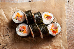 Rolo do sushi Fotos de Stock Royalty Free