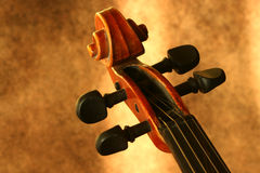 Rolo do violino do vintage Imagens de Stock Royalty Free