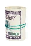 Rolo dos dólares Foto de Stock Royalty Free