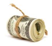 Rolo dos dólares Fotografia de Stock Royalty Free