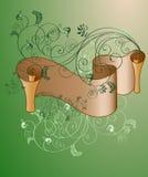 Rolo floral Imagem de Stock
