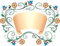 Rolo & ornamento Imagem de Stock
