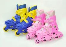 Rolo-patins Foto de Stock