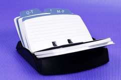 rolodex obrazy royalty free