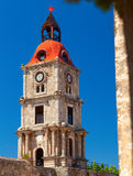 Roloi Clock Tower, at Rhodes Island Royalty Free Stock Image