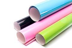 Rolos coloridos Fotografia de Stock