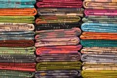 Rolos coloridos da tela Foto de Stock Royalty Free