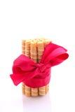 Rolos da bolacha da cookie foto de stock royalty free