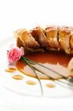 Rolos da carne de porco Fotografia de Stock