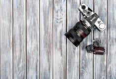 Rolos de filme velhos da foto, Fotos de Stock Royalty Free