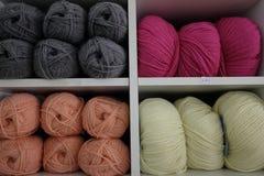 Rolos de lãs Foto de Stock