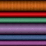 Rolos de matéria têxtil Fotografia de Stock
