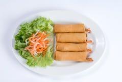 Rolos de mola do camarão Imagens de Stock Royalty Free