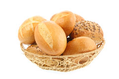 Rolos de pão. fotografia de stock