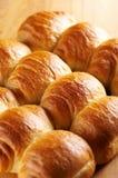 Rolos de pão crunchy frescos fotos de stock