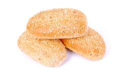 Rolos de pão do sésamo Imagens de Stock