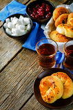 Rolos de pão turcos tradicionais Achma Fotos de Stock Royalty Free