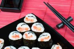 Rolos de sushi foto de stock royalty free