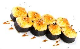 Rolos de sushi Imagens de Stock