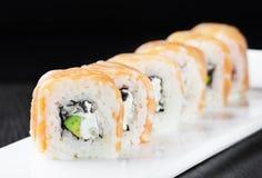 Rolos de sushi de Philadelphfia Imagem de Stock