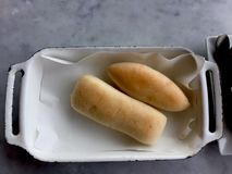 Rolos do bolo do pão imagem de stock royalty free