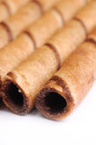Rolos do chocolate Imagens de Stock