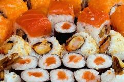 Rolos do sushi Imagens de Stock