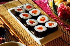 Rolos do sushi Imagem de Stock Royalty Free