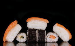 Rolos do sushi Imagem de Stock Royalty Free